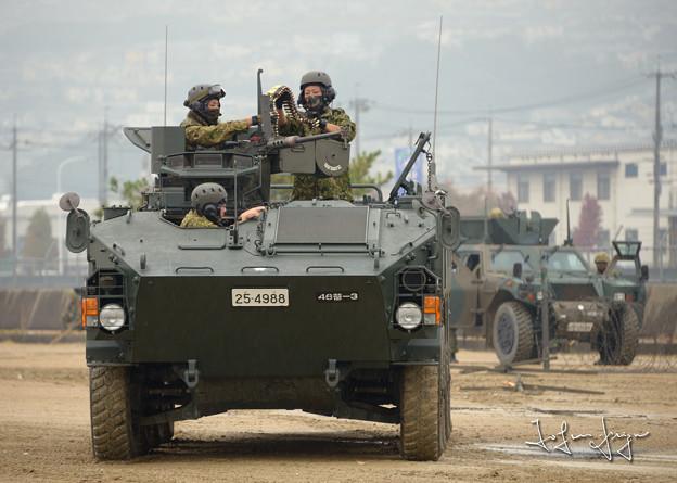 96式装輪装甲車正面2L