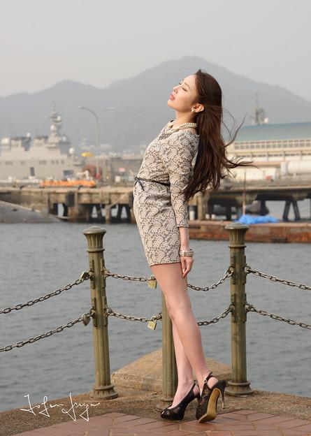 加奈恵桟橋風目瞑り2L
