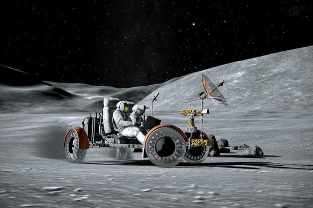 Photos: 月面車2