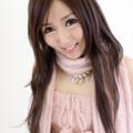 写真: あみかピンク衣装アップ2L