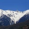 駒ヶ池から望む宝剣岳