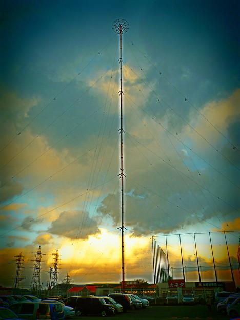 茨島のABSラジオ送信所