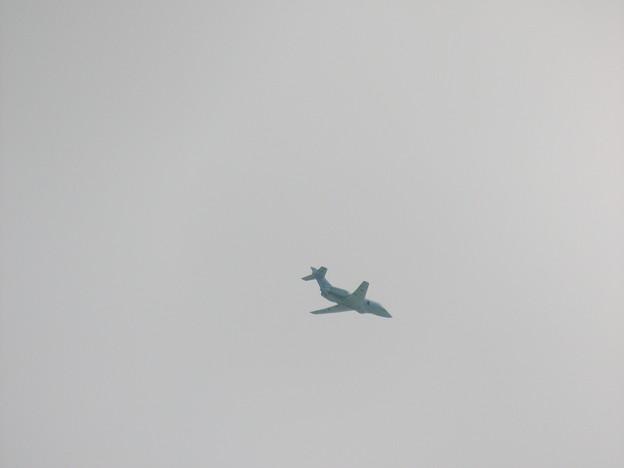 秋田市上空のU-125A