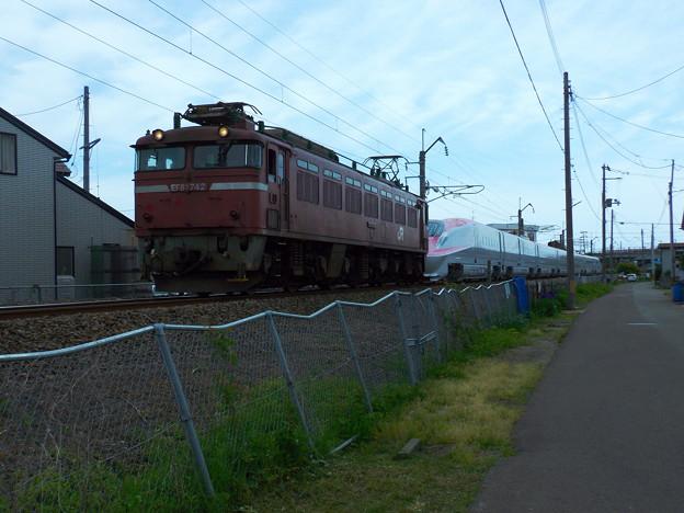 EF81-742牽引~E6系甲種輸送 vol.2