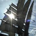 帆と太陽と