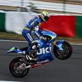 SUZUKI MotoGP開発車両 青木宣篤選手