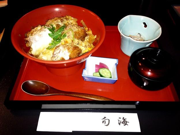 旬海の「かき丼」
