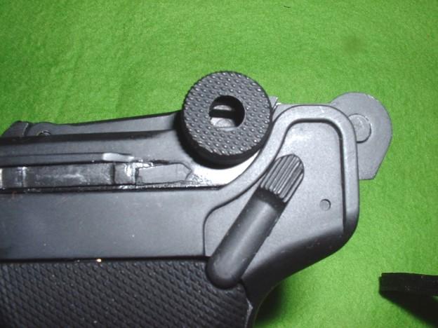 ボルトのロックはフレーム傾斜で解除される Doburoku-TAO