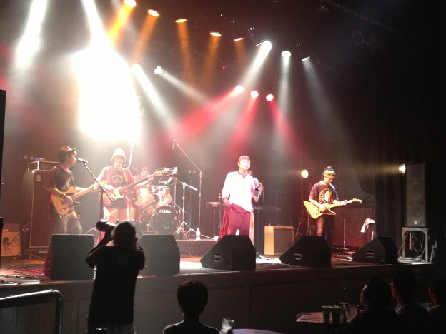 Back Beat Brothers Live in Bottom Line Japan Nagoya