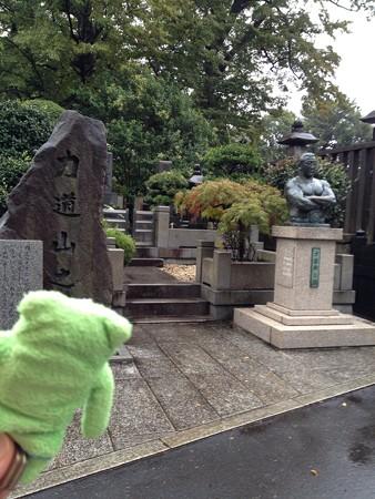 力道山の墓所