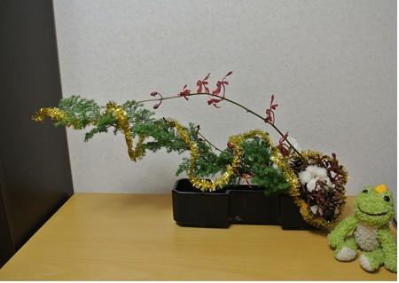 クリスマス花2013-12-01