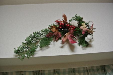 クリスマス花(壁)1