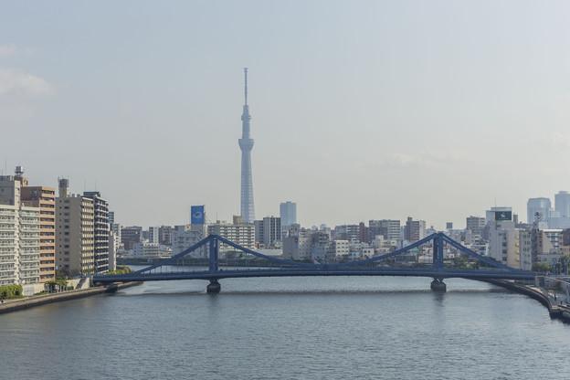 清洲橋と共に…