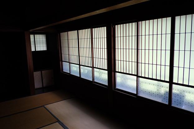 Photos: 高橋是清邸のガラス戸