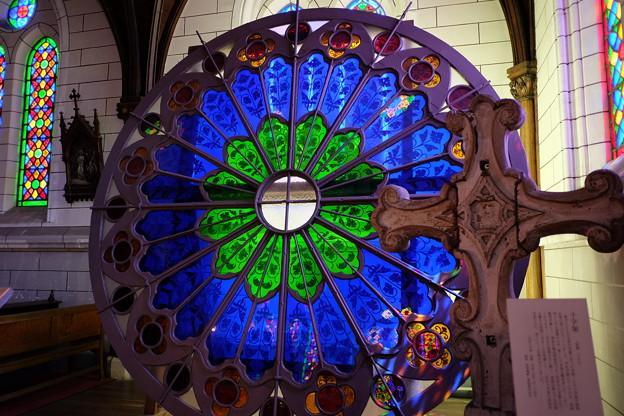 聖ザビエル天主堂の薔薇窓