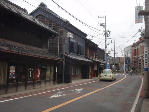 佐原のまちなみ 香取街道沿い1