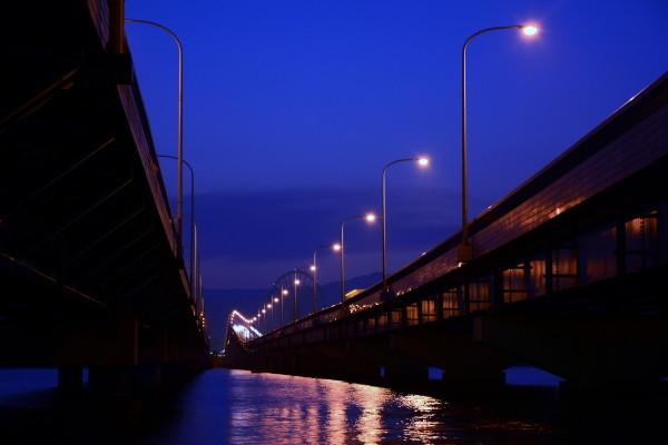 Big bridge of Biwako