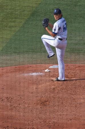 2番手で投げた横浜DeNAベイスターズ・伊藤