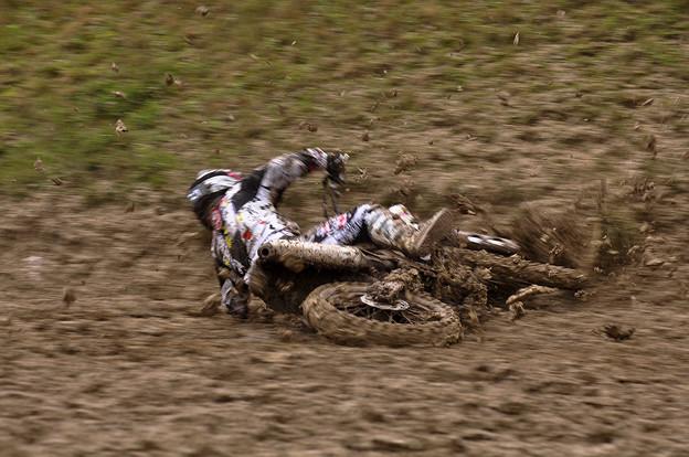 泥の中のレース