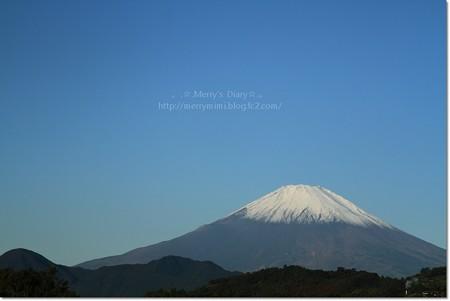 11/1の富士山