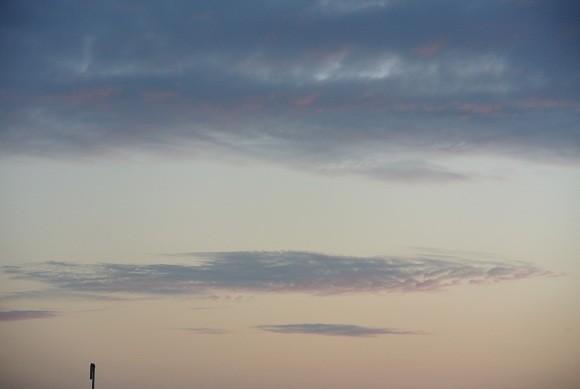 アロワナ雲?