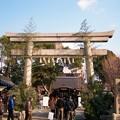 Photos: 元旦の清見原神社