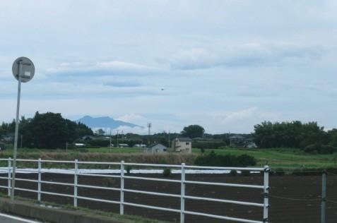 Photos: 雲海に浮かぶ筑波山(上手に撮れなかったよ)