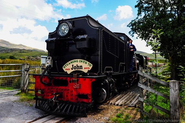 05.Welsh Highland Railway departing from Rhyd Ddu