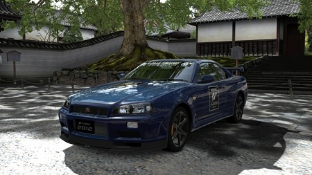 日産 スカイライン GT-R Vスペック II Nür (R34) (GTアカデミー バージョン) '02f