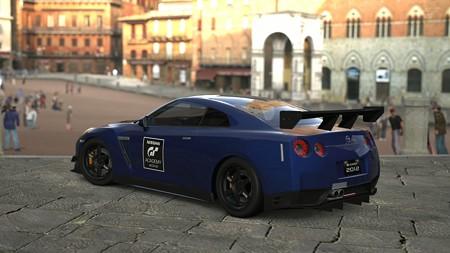 日産 GT-R ブラックエディション チューンドカー (GTアカデミー バージョン) '12r