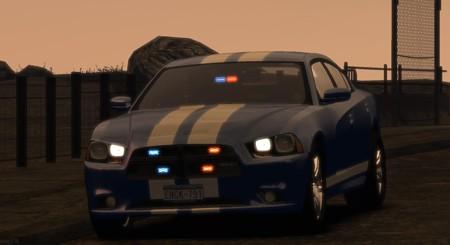 2012 Dodge Charger - Unmarked Police (ELS)