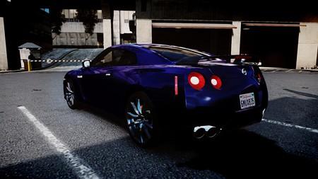 2012 Nissan GT-R Black Edition3