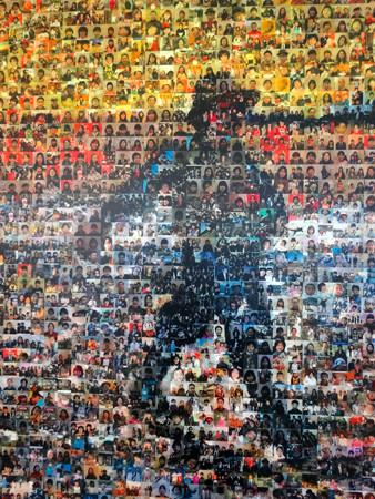 愛知県美術館:人物写真を使って描かれた、ゴッホの『種まく人』(印象派を超えて 点描の画家たち) - 2